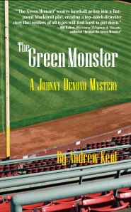 "The cover for the Johnny Denovo sequel, ""The Green Monster"""